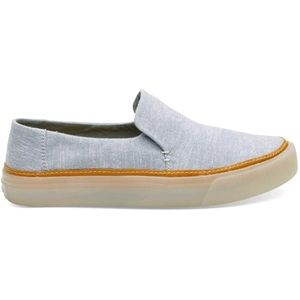 Tom's Light Blue Sunset Slip On SZ 9